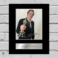 Quentin Tarantino Signed Mounted Photo Display #3