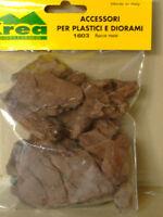 Rocce piatte maxi marrone per plastici gr.60 - Krea Modellismo 1603