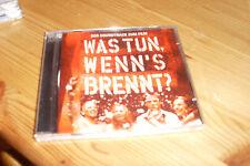 Was tun, wenn's brennt? (2002) Jan Plewka, Clash, Manic Street Preachers,.. [CD]