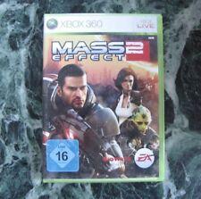 Mass Effect 2 (Microsoft Xbox 360, 2010, DVD-Box) BioWare Handbuch LIVE