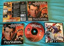 007 Tomorrow Never dies James Bond ps1 pal retrogames video game old