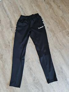 Hummel Jogginghose Trainingshose Schwarz 176