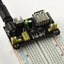 Breadboard PSU 5v/3.3v Switchable MB102/55mm boards UK Seller FREE POSTAGE