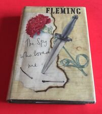 "Erstausgabe! Ian Fleming ""THE SPION WHO LOVED ME"" JAMES BOND 1st/1st Edition EA"