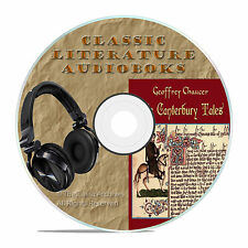 THE CANTERBURY TALES, GEOFFREY CHAUCER, CLASSIC AUDIOBOOK LITERATURE MP3 CD-A54