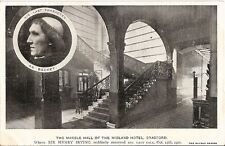 Yorkshire Postcard - The Marble Hall of The Midland Hotel, Bradford  A4974