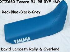 NEW Yamaha XTZ660 Tenere 3YF 4MY Seatcover Funda Asiento  Grey  Blue  Black  Red