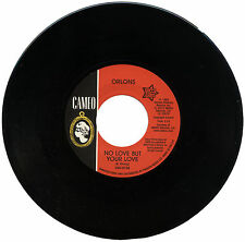 """ORLONS  """"NO LOVE BUT YOUR LOVE c/w ENVY (IN MY EYES)""""    NORTHERN SOUL"""