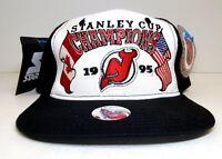Vintage Starter NHL New Jersey Devils 1995 Stanley Cup Champs Snapback Hat NWT