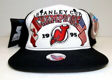 Vintage Starter NHL New Jersey Devils 1995 Stanley Cup Champs Snapback Hat NWT