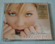 V. Rare Delta Goodrem Innocent Eyes CD Single, Australian Import Special Edition