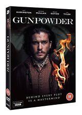 GUNPOWDER Complete BBC Series Box Set Kit Harington NEW DVD