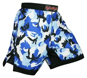 MMA Boxing Fight Shorts Kick Boxing Grappling Cage Fighting Muay Thai Gym Short