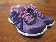Nike Air Revolution 2) Morado Correr Gimnasio Zapatos Zapatillas Uk 4 EU 36.5