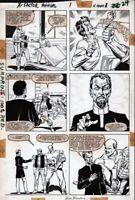 X-Factor Annual #1 page 20 Original Art Bob Layton Brett Breeding Marvel 1986