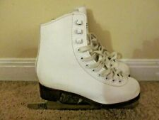 Size 3 Don Jackson Glacier 120 Figure Skates- VERY GOOD-Youth