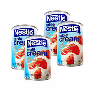 Nestle Table Cream Premium Quality 380 ml - 4 Cans