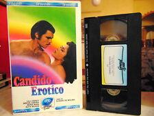 CANDIDO EROTICO ( LILLI CARATI - AJITA WILSON )# RARA VHS - GENERAL VIDEO #