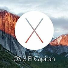 Mac OS X El Capitan 10.11.6 on Bootable USB Flash Drive for Installation Upgrade