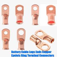 GT1-6mm 250Pcs Copper Tube Butt Wire Ferrule Cable Crimp Connectors Terminal Kit