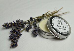 100% Natural Organic antiperspirant Deodorant Patchouli Lavender vitamin E 55g