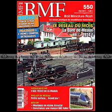 RMF N°550 141-C OUEST 461000 SNCF GARE DE MEAUX 1914 LUTETIA UFR REE ★COMPLET★