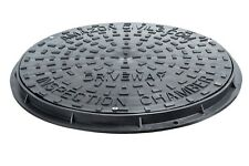 Underground Drainage 450mm Inspection Chamber Round Cover