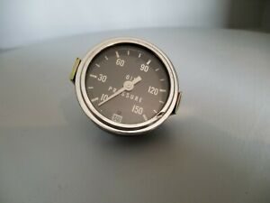 Stewart Warner Oil Pressure Gauge, 10-150, 691-DB, 82407