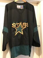 Dallas Stars CCM NHL Hockey Jersey Size XL Green Black
