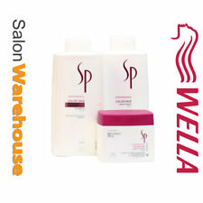 Wella Sp Colour Save SHAMPOO And CONDITIONER Duo1 Litre - Plus Mask 400ml