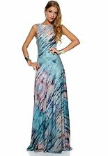 Gestuz Jade Green Hero Maxi Dress Silky Size 34 6 8