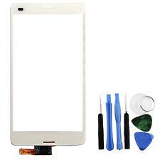 Blanco Digitalizador de pantalla táctil Reparación + Herramientas Para Sony Xperia Z3 Mini d5803 d5833
