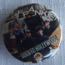 """FRANKIE GOES TO HOLLYWOOD Old Vtg 1980`s  25mm-1"""" Button Pin Badge #NB.113"""