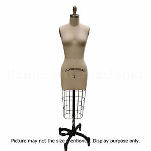 Professional Sewing Dress Form Size 8 Dressform Mannequin, High Quality