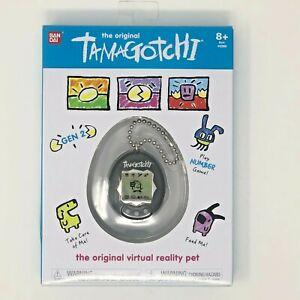 New Bandai The Original Tamagotchi Gen 2 Virtual Reality Pet Feed Care - Black