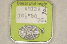 Hairspring balance AMIDA 60 DGT Spirale bilanciere