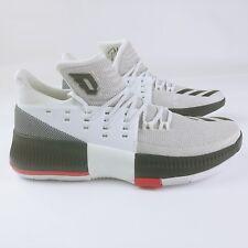 timeless design d9fd7 4c440 Adidas Damian Lillard Dame 3 WBR BB8268 Basketball Shoes Size 10 US