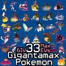33 Gigantamax Pokemon Shiny GMAX 6IV Max EVs / Sword Shield / 33 Masterballs