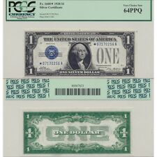 1928 Silver Certificate Fr#1600* PCGS Currency Certified Very Choice New 64 PPQ