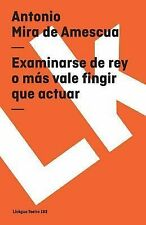EXAMINARSE DE REY O MAS VALE FINGIR QUE - NEW PRE-LOADED AUDIO PLAYER BOOK