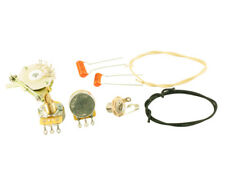 Genuine Tele Complete Wiring Kit 4 Way Switch, Oak, Sprague, CTS, Gavitt
