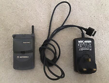 Vintage Motorola StarTAC MG1 Mobile Cell Phone And Charger