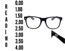 Reading Glasses 0.0 to 4.00 Unisex Mens Ladies Designer Fashion Square Spring