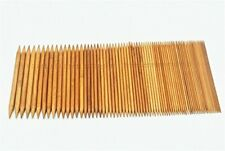 New listing Relian Bamboo Double Pointed Knitting Needles Set 5 sets of 15 Sizes Hats