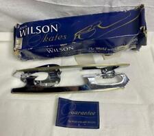 New Vintage John Wilson Coronation Ace Figure Ice Skate Blades Size 11 1/4