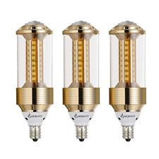 Bogao 3 Pack E14 Led Corn Bulb,85-265V, 15W Daylight White Led Corn Lamp, Watt
