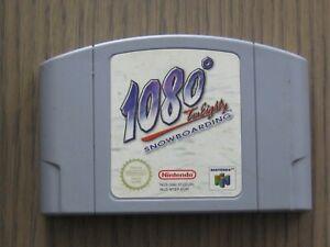 JEU NINTENDO 64 N64 1080 SNOWBOARDING