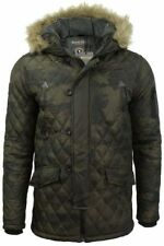 Brave Soul Zip Parkas for Men