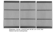 Cast Coooking grid For Brinkmann 810-1575-W,810-4580-SB,Centro 5000RT Gas Models