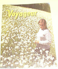 Voyageur Magazine 1969 Vol 2 No 6 Beautiful Color Photos! Nice See!
